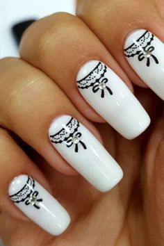 #white #manicure #black #nails #love #nailart #gelnails #nail #naildesign #art #beauty #beautiful #gelpolish #nailswag #style #nailpolish #gel White Manicure, Swag Nails, Gel Polish, Gel Nails, Nailart, Nail Designs, Etsy Seller, Beautiful, Beauty