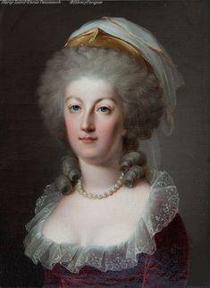 Marie Antoinette - 18th century.