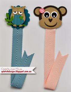 Splotch Design - Jacquii McLeay Independent Stampin' Up! Demonstrator: Children's Craft Birthday Parties