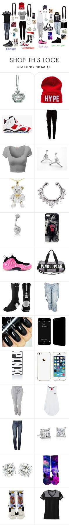 """A day in the life"" by that-trendy-jetsetter ❤ liked on Polyvore featuring Kevin Jewelers, CO, NIKE, Sennheiser, Joie, Bling Jewelry, Crafted, Champion, Freaker and Victoria's Secret PINK"