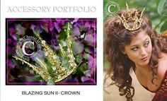 Fanciful crowns and tiaras for your wedding, from Chantal Mallett! Fanciful crowns and tiaras for yo Medieval Wedding, Celtic Wedding, Irish Wedding, Red Rose Wedding, Dream Wedding, Wedding Dreams, Wedding Hair, Fairytale Weddings, Unique Weddings