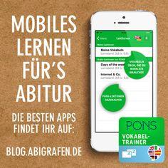 Kostenlose #App für's #Abitur lernen: Der mobile #Vokabeltrainer von Pons hilft euch bei den #Abiturvorbereitungen. Mehr lesen auf http://blog.abigrafen.de