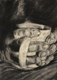 Charcoal, Graphite, & Conte on Rives BFK paper  2011