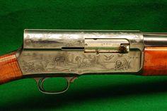 No design better reflects the fire of Browning's genius than the Auto 5 Shotgun… Firearms, Shotguns, Waterfowl Hunting, Hunting Guns, Survival Equipment, Cool Guns, Guns And Ammo, Thing 1, Hand Guns