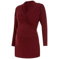 19dbba881eda5 Buy Isabella Oliver Avebury Wrapover Maternity Nursing Top £69 Winter  Maternity Outfits, Pregnancy Fashion