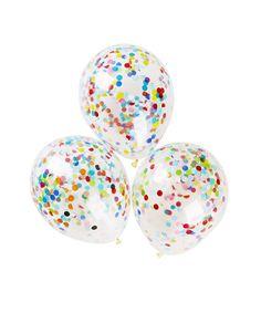 "11"" Confetti Balloons"