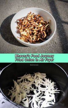 How do you make fried onion without frying? Air fryer comes to the rescue 😀😏. I needed fried onion to make handi biryani. I avoid deep frying anything. I use appe pan most of the times and it works. But I cannot make fried onion in it. So this time my latest gadget came to rescue. Latest Gadgets, Fried Onions, Vegetarian Cooking, Biryani, French Fries, Coconut Flakes, Cooking Time, Gluten Free Recipes, Free Food