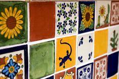 amadera, meuble et décoration, le charme éthique du Mexique authentique: Azulejos mexicains...Carrelage mural artisanal