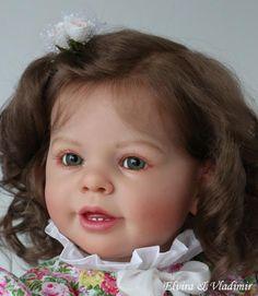 Elvira Vladimir Nursery Reborn Baby Girl Katie Marie by Ann Timmerman