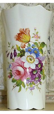 Howard Sprays Aynsley Vase Floral English Bone China Made in England
