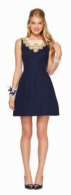 Neckline Embroidery Love This Little Frock