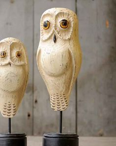 "17"" Moon Owl Tall by Jac Johnson"