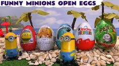 Funny Minions Play Doh Thomas and Friends Peppa Pig Kinder Surprise Egg ...