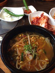 Beef soup & rice. 소고기 국밥 #KoreanFood #Korea #Food