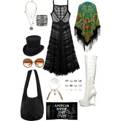 Misty Day. by freespirit-gypsy on Polyvore featuring polyvore fashion style Free People Steve Madden maurices Lulu Frost JOHN BULL Chloé Global Views Episode