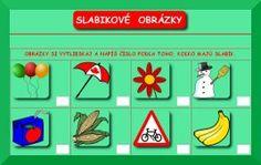 Pastelka pre deti - Horúce zemiačiky - Slabikové obrázky
