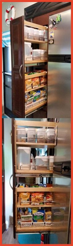 RV Cabinets – As we all know, having a road trip with your RV requires you to bring a lot of stuff. Rv Cabinets, Bathroom Cabinets, Storage Cabinets, Rv Interior, Interior Design, Paint Rv, Rv Bathroom, Diy Rv, Rv Accessories