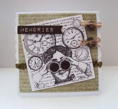 Steampunk Card with Glossy Accents...