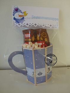 Barnemix - Snømannsuppe Gift Ideas, Mugs, Tableware, Projects, Christmas, Cards, Gifts, Design, Log Projects