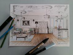 Living room _ designed by Magdalena Sobula (#Pracownia Projektowa Pe2)