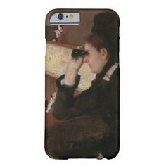 In the Loge by Mary Cassatt 1878 Barely There iPhone 6 Case