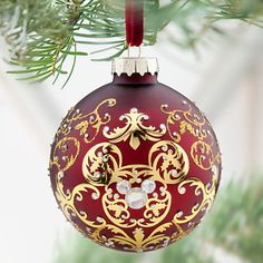 Mickey Mouse Icon Ornament   Ornaments   Disney Store