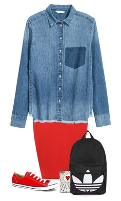 """Untitled #216"" by mahkaylah on Polyvore featuring WearAll, Converse and Topshop"
