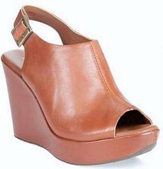 Women's Shoes Korks by Kork-Ease JESSA Wedge Platform Sandals Heels Leather