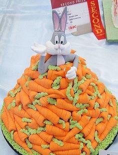 Bugs Bunny Birthday Cake--Awesome!!