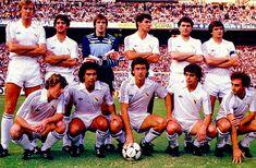 Equipos de fútbol: REAL MADRID 1980-1990