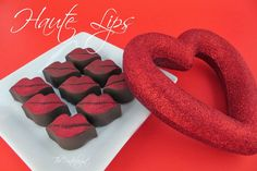 The Partiologist: Haute Chocolate Lips!