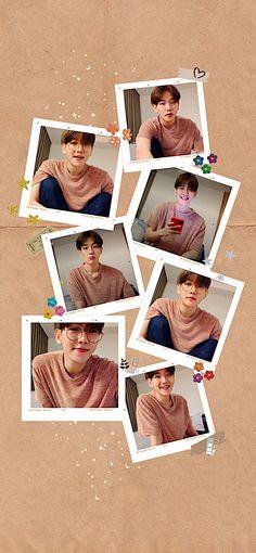 Kpop Iphone Wallpaper, Iphone Wallpaper Tumblr Aesthetic, Kids Wallpaper, Aesthetic Wallpapers, Kris Wu, Chanyeol, Baekhyun Wallpaper, Exo Lockscreen, Birthday Wallpaper