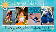 Sunny Side Up: Blog Headers