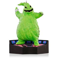 1 X Disney Tim Burtons The Nightmare Before Christmas  Oogie Boogie Halloween Ornament 2015 Hallmark >>> You can find out more details at the link of the image.