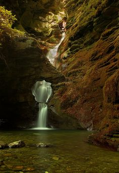 treasuredtentacles:  transylvanialand:  Mystic Waterfall by Graham Vincent on Flickr.  This place is magical. But this picture doesn't truly...