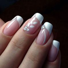 Hot Trendy Nail Art Designs that You Will Love Cute Nail Art, Easy Nail Art, Cute Nails, Pretty Nails, Fabulous Nails, Gorgeous Nails, French Nails, Simple Nail Art Designs, Nail Designs