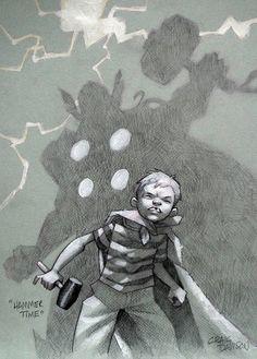 Thor - 'Hammer Time' by Craig Davison Marvel Comics, Comics Anime, Darkhorse Comics, Star Wars Poster, Star Wars Art, Star Trek, Comic Books Art, Comic Art, Deadpool