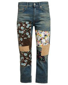 JUNYA WATANABE | Patchwork Denim Jeans