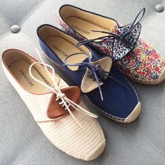 I got a sneak peak at these adorable espadrilles from Sarah Flint last week and I just noticed you could now pre-order them on Moda Operandi! woohoo