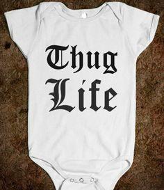 Thug Life One-Piece - glamfoxx.com on Wanelo