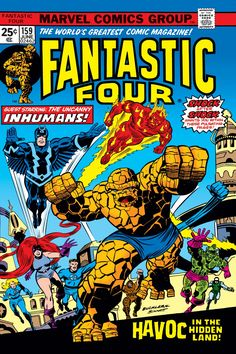 Fantastic Four (1961) Issue #159 - Read Fantastic Four (1961) Issue #159 comic online in high quality