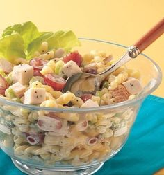 chicken pasta salad with poppy seed dressing recipe chicken pasta ...
