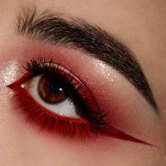 red eye makeup https://www.instagram.com/p/BD9pe1Nt0aY/