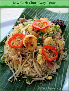Low Carb Char Kway Teow   Cooking Gallery