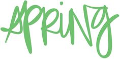 A free Spring diecut image for Silhouette or other cutting machines. The PNG can also be used as a brush script on a photo.