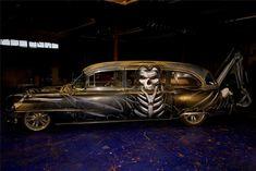 Custom Cadillac Hearse | Barrett-Jackson Lot: 1533.1 - 1954 CADILLAC CUSTOM HEARSE REVISITED