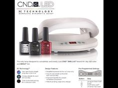 CND LED Lamp 2015 New! http://www.nailsrus.ca