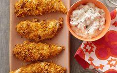 Homemade Frozen Chicken Fingers by Food Network Kitchens (Chicken, Egg White) @FoodNetwork_UK