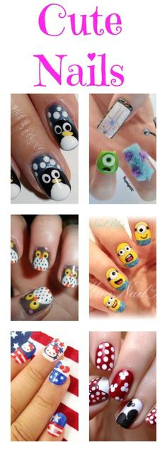Cute nails! For more nail ideas, go to http://sussle.org/t/Manicure