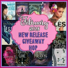 Welcome to the February New Release Giveaway Hop hosted by It Starts At Midnight !      This giveaway is open to international entries...
